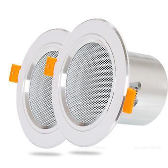8ohm 10w banheiro alumínio à prova de umidade pode teto alto-falante música de fundo