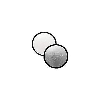 Refletor de 30cm de última linha - prata/branco de 30 cm prata, branco