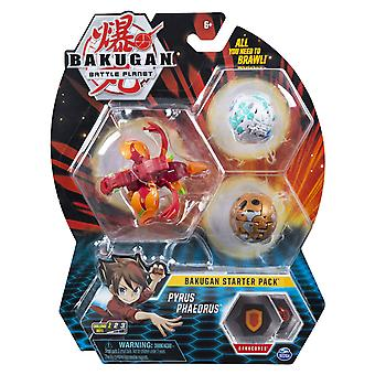 Bakugan 6045144 starter pack set assortment (styles may vary-one supplied), multi colour