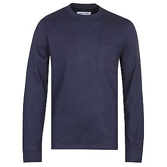 Samsoe & Samsoe Arrie 11567 Long Sleeve Navy T-Shirt