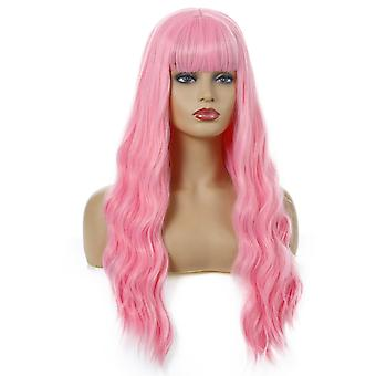 Women's Long Curly Wig New Women's Loose Wave Curly Wig Wig Wholesale