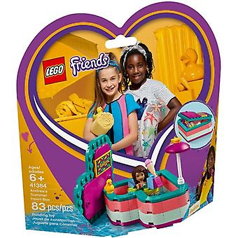 LEGO 41384 Andrea ' s heart shaped summer box