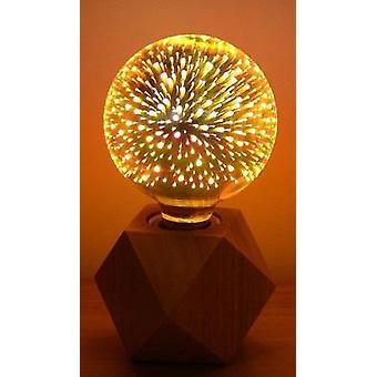 Vuurwerk Effect Led 3d Light Vintage Lampen Tafellampen