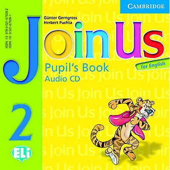 Join Us for English 2 Pupils Book Audio CD by Gerngross & GunterPuchta & Herbert