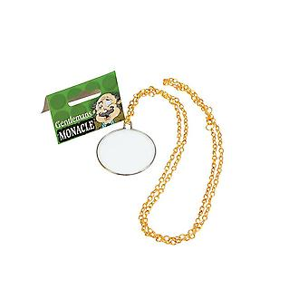 Bristol nowość ba097 gentleman's monocle, męski, złoty, jeden rozmiar 1