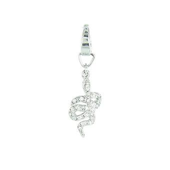 Fossil Anhänger Charms JF00308040 Schlange Zyrkonia