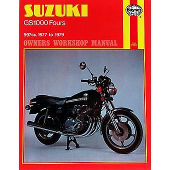 Clymer M484 Haynes handbok för Suzuki