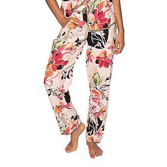 Cyberjammies Natalie 4795 Women's Peach Mix Floral Cotton Pyjama Pant