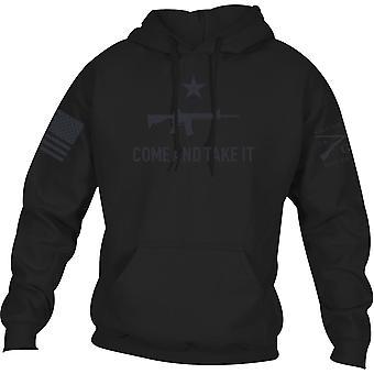 Grunt Style Come and Take It 2A Edition Pullover Huppari - Musta