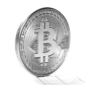 Creative Souvenir Gold Plated Bitcoin Collectible Great Art Collection Physical