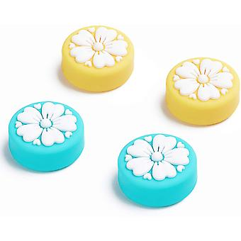 Tapa de joystick sakura Flower Thumb Grip para Nintendo Switch & Lite