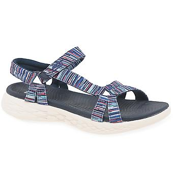 Skechers On The Go 600 Electric Womesn Sandals