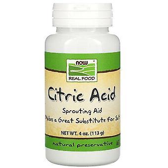 Maintenant Aliments, Acide citrique, 4 oz (113 g)