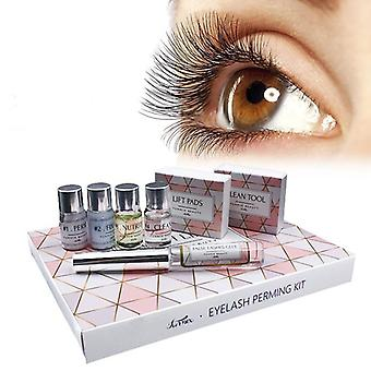 7 In 1 Eyelash Perming & Lifting Kits With Rods Glue Lashes Perm Curler Eye