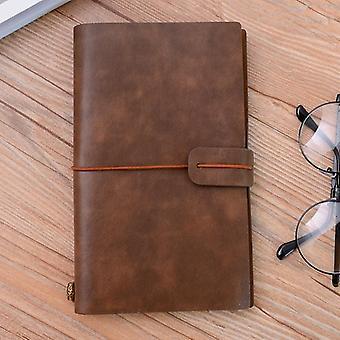 Sale Pu Leather Notebook Handmade Vintage Diary Journal Sketchbook Planner Tn