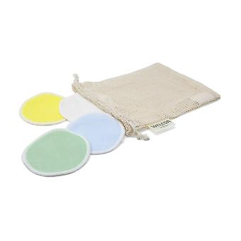 Ecological and reusable makeup remover pads 4 units