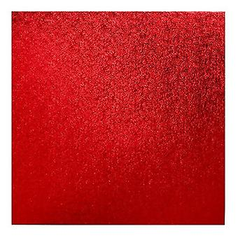 "8"" (203mm) Cake Board Square Red - single"
