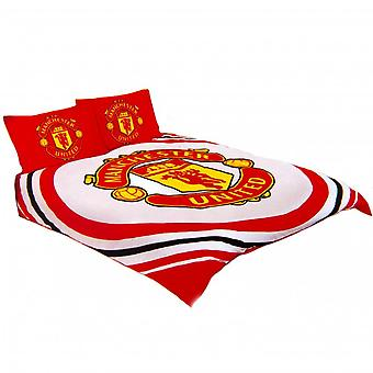 Ensemble de couverture de couette de Manchester United FC Pulse