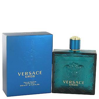 Versace Eros Eau De Toilette Spray von Versace 6,7 oz Eau De Toilette Spray