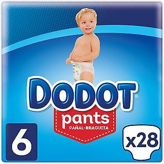 Dodot Pants Taille de Couche 6 avec 28 Unités