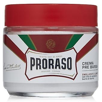 Proraso Red Pre Shave Cream with Sandalwood and shea butter 100 ml