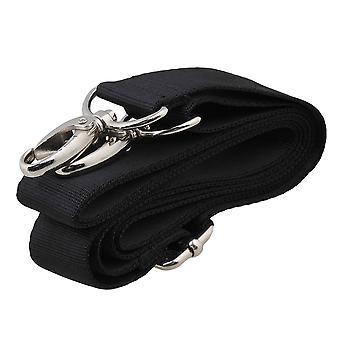 150x3cm zwarte dubbele haken nylon schouderband vervanging voor tassen