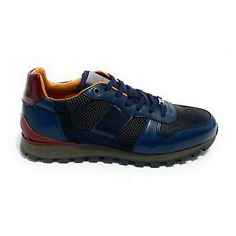 Pantofi pentru barbati Ambitioasa 8449 Sneaker Running Color Blue Navy U21am05