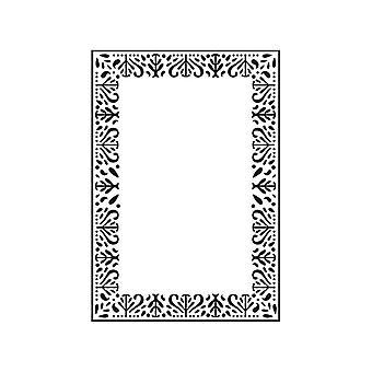 Kaisercraft Embossed Folder 4x6 Decorative Frame