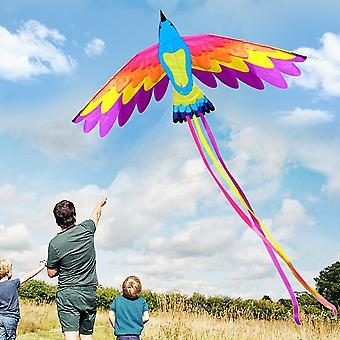 Colorful Single Line Kite, Sports Beach And Adults, Outdoor Flying With String