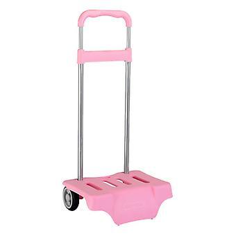 Batoh Vozík Safta Ružová