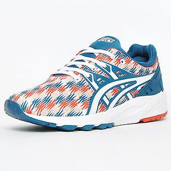 Asics men's gel kayano evo trainers red blue h6c3n 4501