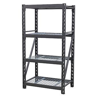 Sealey Ap6372 Heavy-Duty rack enhet 4 Mesh hyller 640Kg Per nivå 978Mm