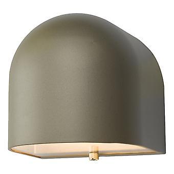 Down aanstekers wandlamp zilver LED IP44