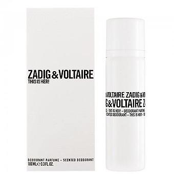 Zadig & Voltaire This Is Her Deodorant spray 100 ml