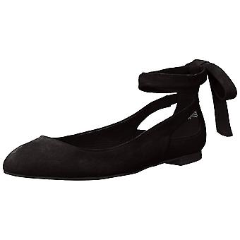 Kenneth Cole New York Womens Wilhelmina Closed Toe Ankle Strap Ballet Flats