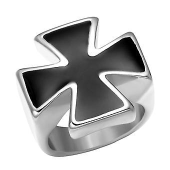 Knights templar cross ring-(silver/gold)