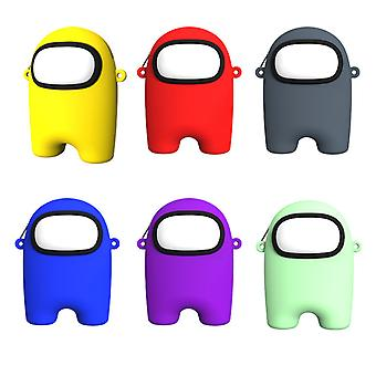 Among US Silicone Purse Zipper Storage Bag With Carabiner