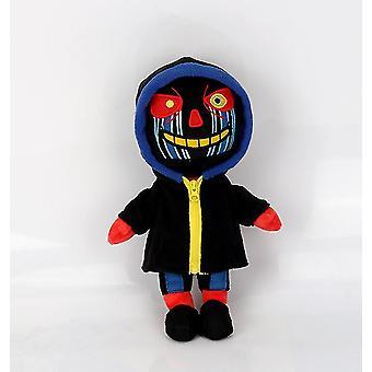 Musta zombie lapset lelu peli undertale sans muhkea st uffed nukke az5595