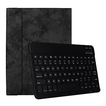 DZK Qwert Apple iPad Pro 11 ch 11 ch bezdrátová inteligentní spánková klávesnice + ochranné pouzdro (černé a černé