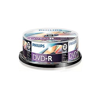 Philips DVD-R 16X 25 PK Husillo