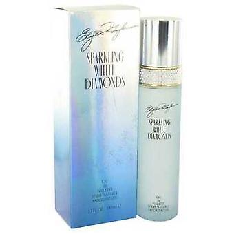 Sparkling White Diamonds By Elizabeth Taylor Eau De Toilette Spray 3.3 Oz (women)
