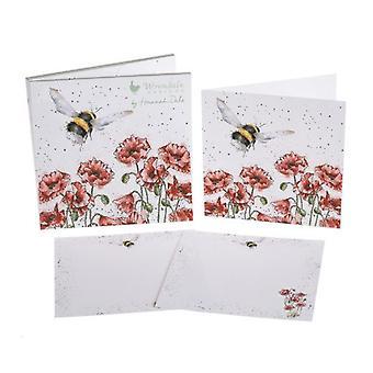 Wrendale Mallit Bumblebee Notecards