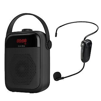 Portable Voice Amplifier Wireless Microphone Audio Bluetooth Speaker Megaphone