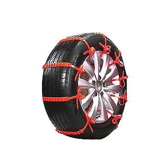 Car snow chains emergency anti-slip tire belt winter universal amazing traction durable 20 pcs