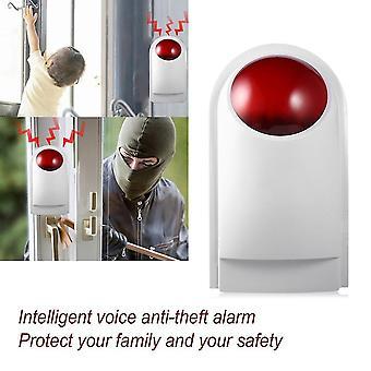 8pcs/set Gsm draadloze smart voice anti-diefstal alarmsysteem met lcd-display