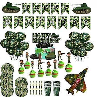 Camouflage Balloons Perfect For Outdoors Themed Hunting Or Military Celebration Or Party