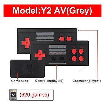 Usb sans fil ordinateur tv console de jeux vidéo construire dans 818 classique 8 bit jeu mini console double manette de jeu sortie compatible HDMI