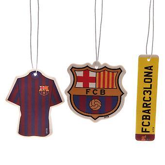 نادي برشلونة 3pk الهواء معطر