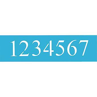 """Americana Stencil 6""""X18"""" 3/Pkg - Tider Nya Romerska Nummer 5"""""""