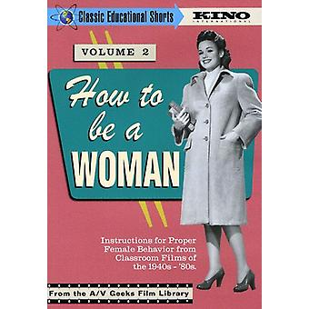 How to Be a Woman [DVD] USA import